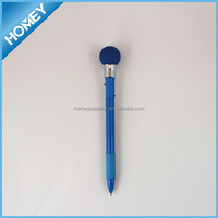 hot novelty ball pen with light ideal for promotion