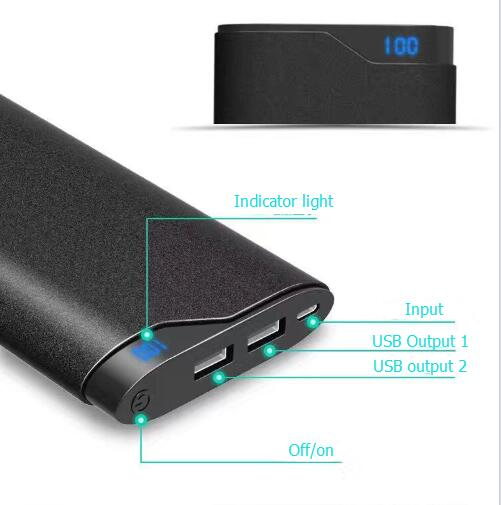 Hot selling power bank 10000mah powerbank with FCC CE RoHS