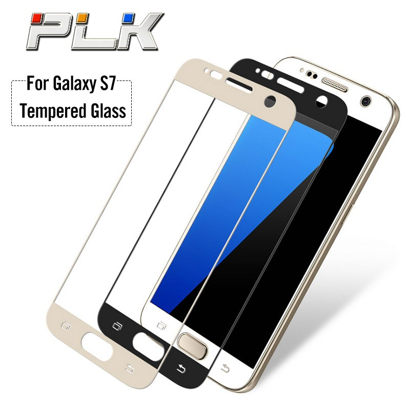 New Products 2016 Cell Phone Screen Protector For Samsung Galaxy s7 edge, Mobile Accessories Full Cover Tempered Glass Products/