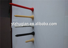 Wholesale cheap wooden golf tees/golf tee holder printed logo