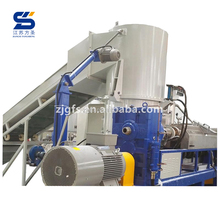 Fangsheng waste pe film bags recycle pelletizing extruder