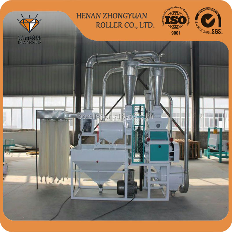 5 ton per day maize/wheat flour milling machine/flour mill emery stones