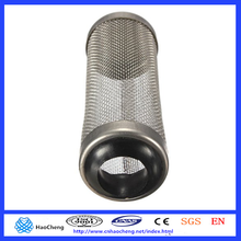 Wholesale eco-friendly aquarium stainless steel 12mm mesh filter guard shrimp fish lily pipe canister