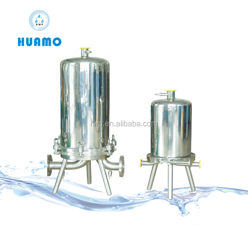 stainless steel multi-cartridge filter housing for wate,ss304/316 water filter housing