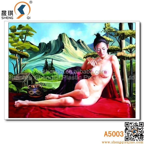 HD 3D Sexy Girl Picture with/without Frame Nude