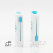 Lady Simple White Lipstick Tube