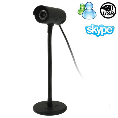 5.0 Mega Pixels USB 2.0 Driverless PC Camera / Webcam, Cable Length: 1.2m