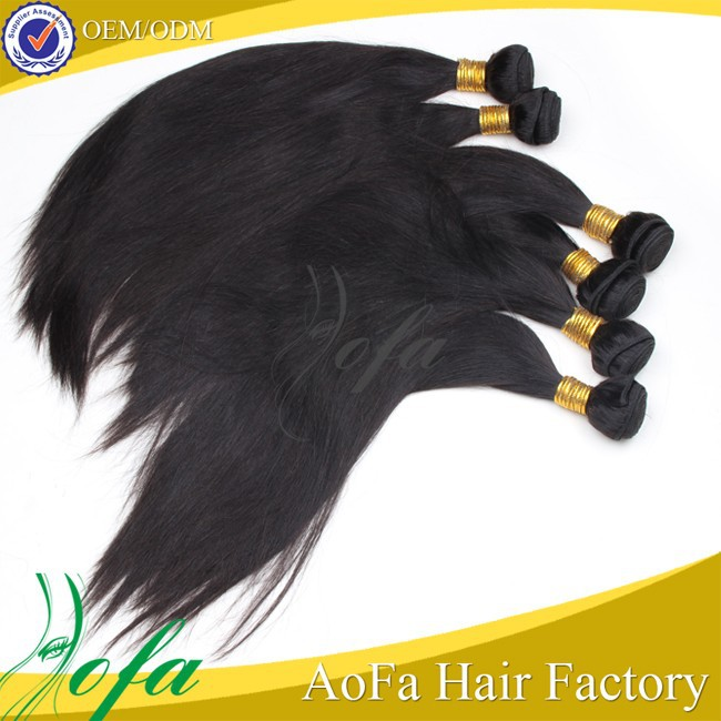 Aofa hair 100% raw unprocessed remy indian hair wholesale