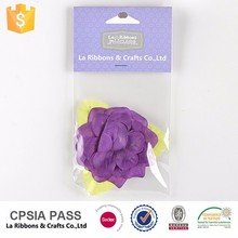 Alibaba dress corsage silk fabric artificial flowers imported from china