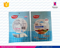high quality foil lined snack food packaging three side seal bag