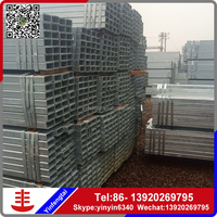 Galvanized steel piping/gi square tubes & pipes from alibaba store