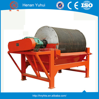 Easy to maintain CTB600x1800 2.2KW magnetic drum separator