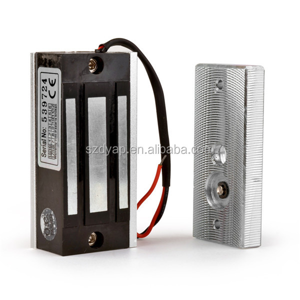 60KG 100lbs mini electromagnetic locker lock magnetic cabinet lock