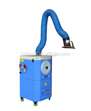 Portable fume extractor, plasma air filter cleaning machine