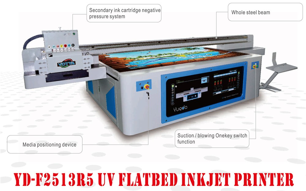 High quality Low Cost UV Flatbed Printing Machine Digital 3D metal UV Printers Price
