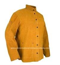 Leather Welding Safety Working Jacket