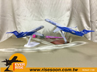 BOMBARDIER CRJ Series Scale 1:100 Aircraft Model Plane
