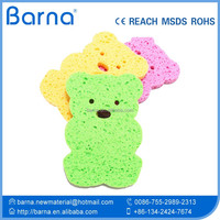 intresteing baby bath sponge scrubber with soap,Super soft and comfortable