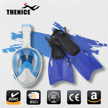 TheNice Kuyou factory wholesale scuba diving equipment mask with gopro mount for snorkeling