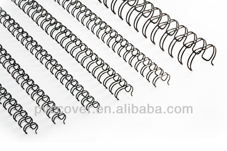 Double Binding Wire Metal Wire nylon coated double loop wire