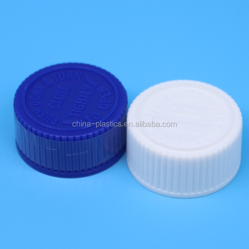 Good quality Plastic Safety Screw Cap 28mm