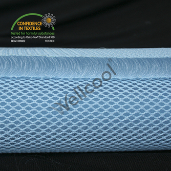 100% polyester breathable material 3d mesh for motorcycle seat cover