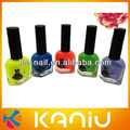 2014 hot selling beautiful girl BK nail polish