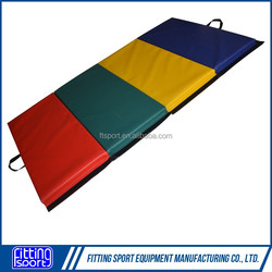 4 panel club rainbow gymnastic padding(actual photo attached)