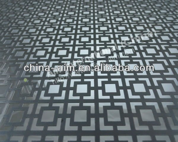 Decorative/Guarding/Fencing/Filtering PVC Coated Iron Microporous Perforated metal mesh/sheet/pannel/ Punching hole nets