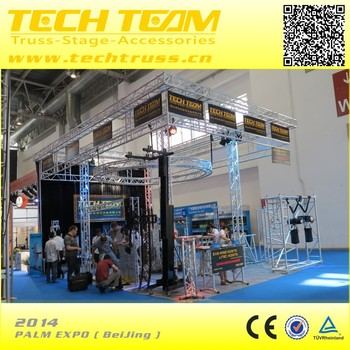 PALM EXPO 2014 BeiJing 6x6 aluminum exhibition booth