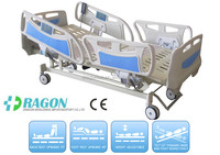Hot selling cheap portable electric infant hospital bed with five functions;electric medical bed DW-BD101