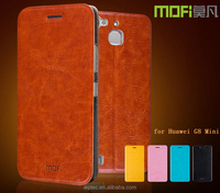 MOFi Brand Soft and Ultra-thin Leather Case Cover for Huawei G8 Mini,with TPU Back Cover