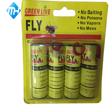 hot selling new design control 4pcs fly glue paper roll, fly catcher, insect killer