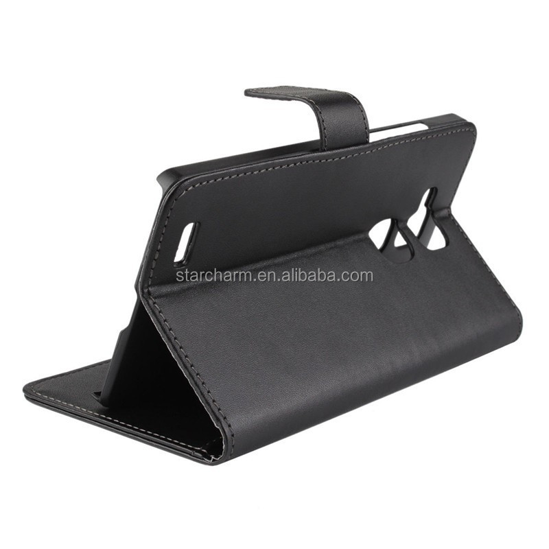 Kickstand wallet flip leather cover for Huawei Ascend mate 7