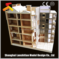 Latest product ready cheap wood house model