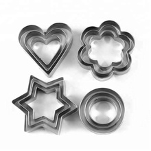 cheap christmas shape cutters stainless cookie cutter set
