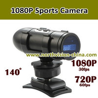 1080p full hd motorcycle camera, waterproof, four dig lcd screen, 130 degree