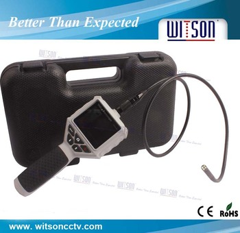 Witson 2.7 inch HD monitor industrial mini inspection camera(W3-CMP2818DX)