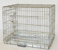 folded pet cages