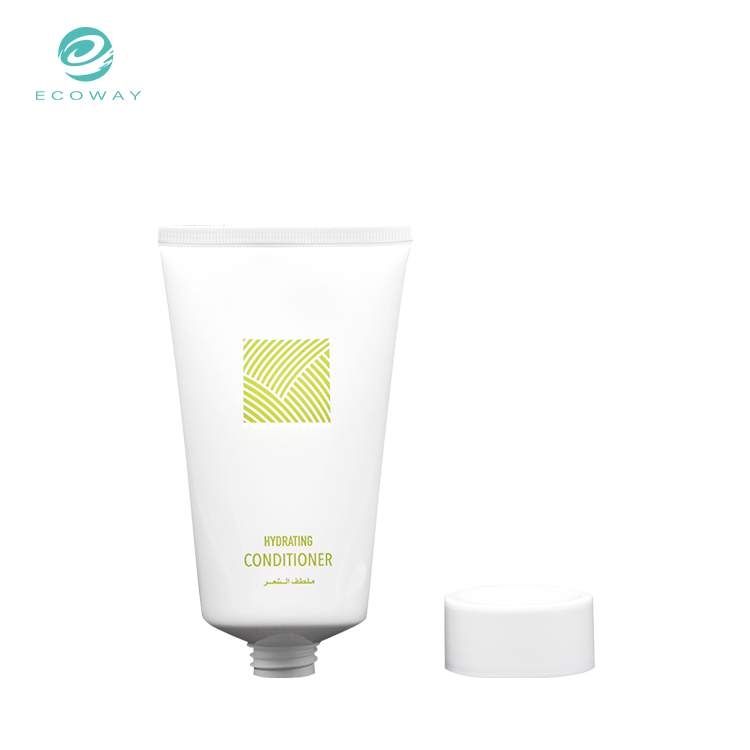 Professional custom hair conditioner cosmetic packaging tubes plastic for wholesalers