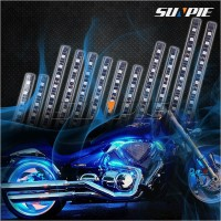 Automobile Motorcycle Decoration Atmosphere Strip RGB