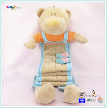 Cute baby stuffed animal toys little bay series and growth chart