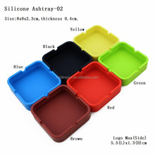 High Quality Fancy Square Cigarette Snuffer Ashtrays