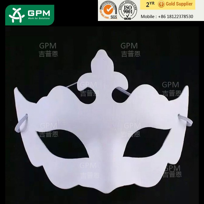 Paper Mask Material Halloween Occasion Blank Animal Face Mask