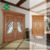 Engineering 3mm wood veneer HDF core door skin used for engineered wood door