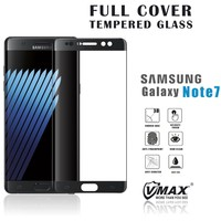 2016 VMAX New arrival! Full Covered mobile phone tempered glass screen protector for Samsung galaxy note 7 Gorilla Glass