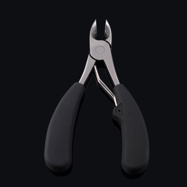 black foot nail care clipper nippers with case