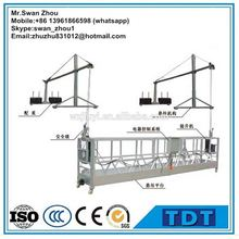 Customized Aluminum / Steel Electric Suspended Working Platform (Hanging Scaffold Systems)