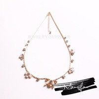 Newest design Chinese Supplier Reasonable Price Gold Jewellery Anklet