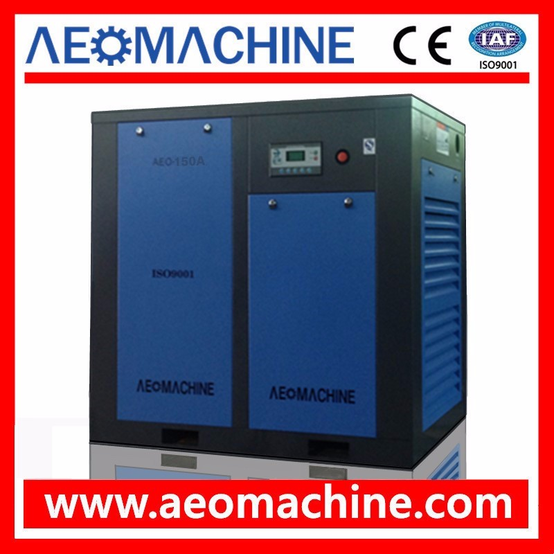 Industrial Motor Drive Screw Ari Compressor 110KW 150HP / High Quality Air Compressor